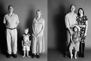 Ход времени - наглядно: семья делала одно и то же фото на протяжении 21 года