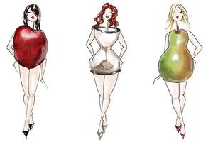 Яблоко, груша или песочные часы: форма тела раскроет тайны вашего здоровья