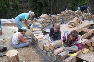 Они построили дом из простых дров и довольны: фото