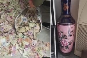 Дочь разбила вазу отца, и ему пришлось объясниться за содержимое