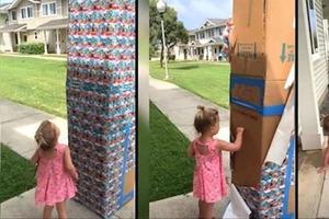 Отец прислал дочери огромную коробку с печеньем. Внутри был спрятан тайный подарок
