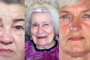 Из бабульки - в эффектную женщину: приятное преображение трех бабушек в руках умелого стилиста