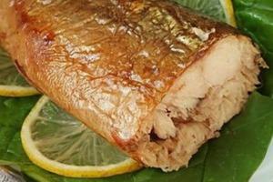 Вкусная золотистая рыбка без коптильни и химии: я готовлю скумбрию быстро