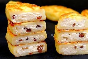 Тетя из Украины научила делать пирожки из манной каши и творога. Круче любых сырников!