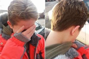 Новая прическа дочери вызвала бурную реакцию у папы, и он ее подстриг
