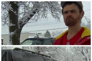 Бездомный увидел машину, застрявшую в снегу, и решил помочь, даже не подозревая, что за рулем известная личность