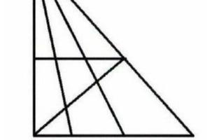 Только люди с IQ выше 120 смогут увидеть здесь больше 18 треугольников. Сколько видите вы?