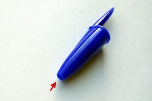 Колпачок шариковой ручки может спасти жизнь