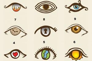 Какой глаз выберете вы? Ответ раскроет вашу личность