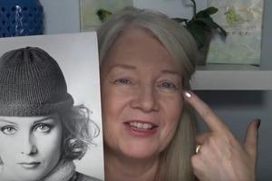 Как женщине старше 50 красиво накрасить глаза: модель поделилась своими секретами