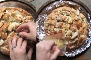 Когда гости на пороге, готовлю простую и вкусную закуску из магазинного хлеба