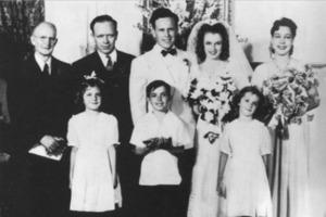Фотографии с первой свадьбы Мэрилин Монро, когда ей было 16 лет