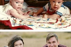 Супруги, знакомые с пеленок: фотографии тогда и сейчас