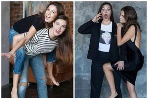 Разве дашь 57? Ведущая новостей Екатерина Андреева щеголяет в рваных джинсах и выглядит не старше собственной дочери