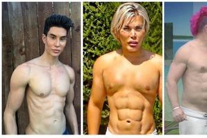 Идеальные мужчины? Знаменитости с мышцами-имплантами