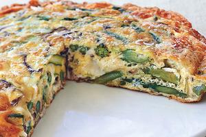 По утрам готовлю итальянский пирог: я и сыта целый день, и не толстею (рецепт)