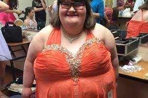 Девочка, которая весит 172 кг, стала королевой красоты