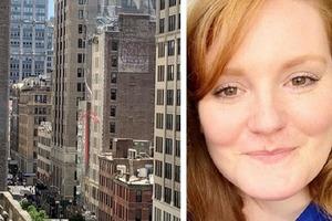Девушка заметила на крыше дома женскую фигуру и тотчас набрала 911. Спасатели сработали оперативно, еле сдерживая смех