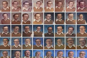 Школьный учитель специально фотографировался в одной и той же одежде на протяжении 40 лет (фото)
