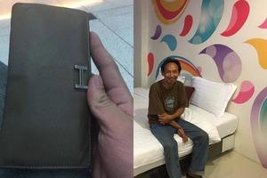 Бездомный мужчина нашел кошелек, но решил вернуть его. Сейчас у него есть работа и квартира