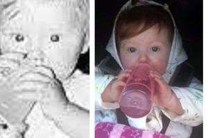 Женщина была удивлена, увидев фотографию внучки. Она оказалась копией пропавшего много лет назад сына