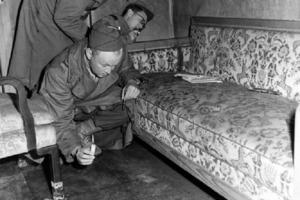 Редкие снимки из секретного бункера Гитлера