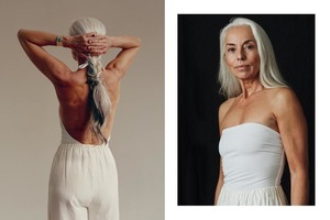 Шестидесятилетняя модель доказала, что женщина в возрасте не должна стесняться носить купальник