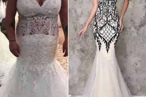 """Женщина столкнулась с """"лавиной"""" критики, показав в Сети свое свадебное платье"""