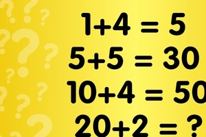Проверим логическое мышление: какое число должно быть вместо знака вопроса