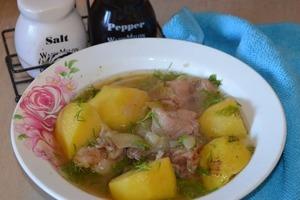 Еда для мужчин: готовлю своем мужу его любимую шурпу. Делается быстро, получается сытно и очень вкусно (рецепт)