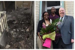 Пара купила разваливающийся дом за 1 фунт. Через время она показала его чудесную трансформацию