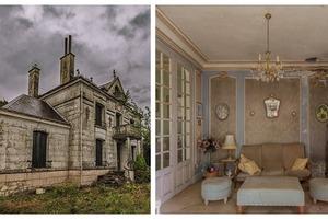 Владельцы бросили свой дом 20 лет назад, но внутри время как будто замерло. Фото
