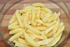 Готовлю хрустящую картошечку фри без капли масла. Простой рецепт