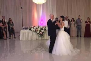 Все началось со свадебного танца дочери и отца. Затем музыка изменилась (видео)