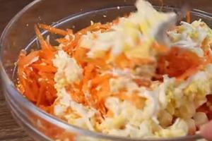 Морковный салат, который покорит ваш желудок. Аппетитный, сытный и очень вкусный