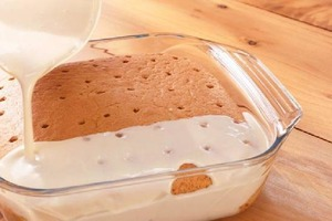 """Когда у домочадцев спрашиваю, что испечь, все в один голос кричат: """"Пирог с молоком"""""""