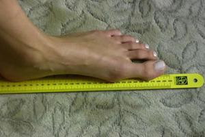 Продолжительность жизни зависит от размера стопы? Мнение американского врача