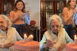 Слова 94-летней бабушки на ее дне рождения застали присутствующих врасплох. Юмор оценили все