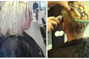 Девушка попросила парикмахера постричь ее на свое усмотрение: такого результата она не ожидала