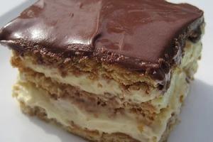 """Нежный торт """"Эклер"""", для приготовления которого я не использую духовку: рецепт"""