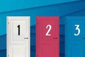 Какую дверь вы откроете первой? Простой тест раскрывает особенности личности