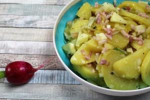 Подружка из Германии накормила меня салатом из картофеля: теперь готовлю сама