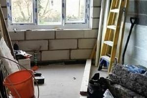 Из старого гаража - в игровую комнату: мама 2 детей преобразила помещение (фото)