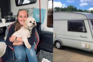 Учительница младших классов купила жилой фургон и сделала там ремонт: фото