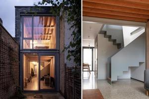 Дизайнеры уместили дом в узком переулке. Несмотря на ограниченную площадь, дом получился уютным (фото)