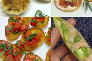 На свадьбу или другое торжество: рецепты ярких, необычных и очень вкусных закусок на основе крекеров, багета и тарталеток