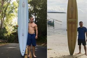 Парень потерял свою доску для серфинга: спустя 2 года он нашел ее на другом конце мира