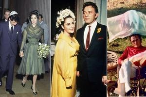 Для тех, кто не хочет белое свадебное платье, но не может решиться нарушить традиции: 10 звездных невест, выбравших другой цвет