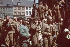 А что было после? Редкие цветные фото последствий битвы при Дюнкерке (1940 год)
