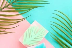 Сделала очень красивое мыло с пальмовыми листьями: оно прекрасно ухаживает и радует глаз